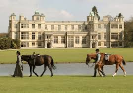 audley end front horses